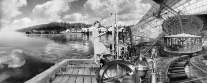 Edmondson's Processing Plant #457 (collage, 2012)
